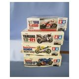 Lot of 4 models Yamaha YCR500 1:12, Yamaha YZF-R1