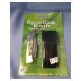 Folding lock back knife in original package  (i99)