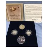 US Mint Westward 2005 Journey nickel coin and meda