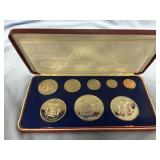 1975 Franklin Mint Jamaica coin proof set        (