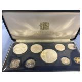 1974 Franklin Mint Jamaica coin proof set        (