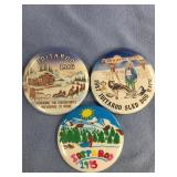 Lot of 3 Iditarod pins: 1986, 1987, 1995      (M 1