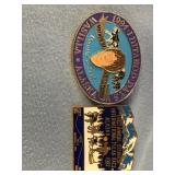 Lot of 3 Iditarod pins 1987, 1994, Dodge Dealer pi