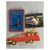 Lot of 3: 1996 Iditarod Days, 1993 Iditarod Days,