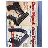 Lot of 2 gun digest books          (O 16)