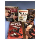 Lot of 5 gun books           (O 16)