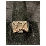 Fashion ring size 12 features State of Alaska