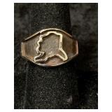 Fashion ring size 11 features State of Alaska