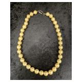 """Strand of simulated pearls, about 18"""" long    (M 9"""