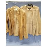 Lot of 2  suede lady jackets, 1 by Finley and othe