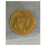 1806 Drake Bust $5 gold coin,            (33)