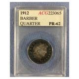 1912 Barber quarter PR62 by ACG           (33)
