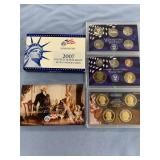 2007 complete mint proof set- penny all the way up