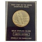 Franklin Mint first step on the moon, eye witness
