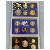 Lot of 2 United states mint proof sets 1996 & 2004