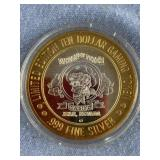 Limited  edition $10 gaming token from Nevada