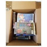 Box full w/kids VHS movies       (BC)(M 120)