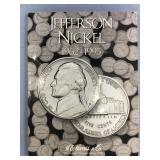 Jefferson nickel coin collection set 1962-1965 inc