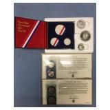 Lot of 3 US Mint releases including silver Bicente