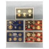 Lot of 3 US Mint sets,  2004 Silver proof set, 197