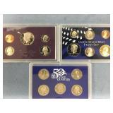Lot of 2 US Mint proof sets 1986, 2004           (