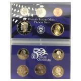 2008 S US Mint proof set           (33)