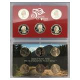 Lot of 2:  2005 S state Quarter set and 2005 nicke