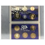 2002 US Mint proof set           (33)