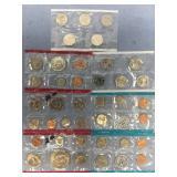 Lot of US Mint proof sets 2004 P, 1978 P, 1968 S,