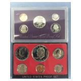 Lot of 2 US Mint proof sets 1973 S, 1992 S