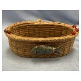 Cold Water Creek, handmade basket from Georgia lon