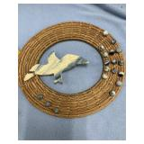Free Flight hand woven wall hanger made from Georg