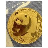 2001 Chinese gold panda           (33)