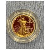 1988 Gold coin 1/10th oz gold          (33)
