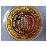 $10 Silver Gaming token from Nevada          (33)