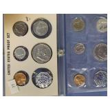 Lot of 2 US Mint silver proof sets 1956, 1960