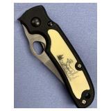 "Small folding pocket knife 6.25"" long"