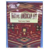"Hard back book ""Native American Art"" by Robin Lang"