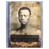 """Hard back book """"Frontiers the epic of South Africa"""