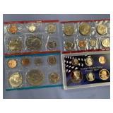 Lot of 3 US mint sets, 1973 unc., 1973 unc. Set, 2