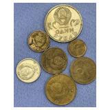 Bag lot of Soviet money          (33)