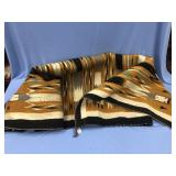 Hand woven wool Navajo horse blanket about 5