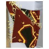 Beautiful Navajo woolen horse blanket 5