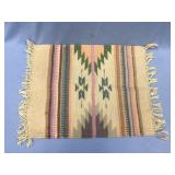 Hand woven wool placemat              (P 1)
