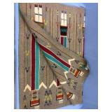 "Native American rug 47"" long              (P 1)"