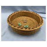 Meadow Wood basket  made from Georgia long leaf pi