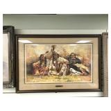 Howard Terpning signed and numbered, triple matted