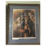 """Michael Gentry artist proof, signed, """"The Collecto"""