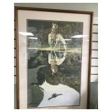 Bev Doolittle signed and numbered, double matted
