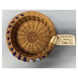 Eagle Island basket, made from Georgia longleaf pi
